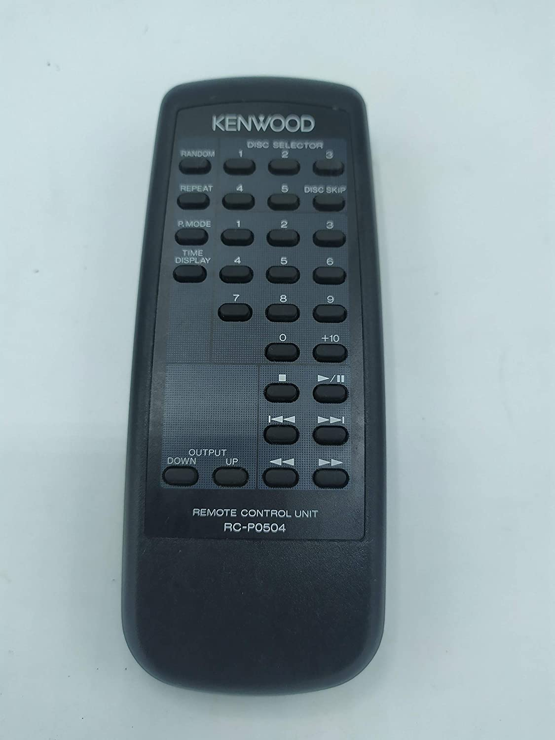 Kenwood RC-P0504 CD Player Remote Control