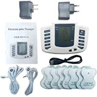TENS MACHINE Electrical Stimulator Full Body Relax Muscle Stimulator for Electrotherapy Pain Management 16 Pads