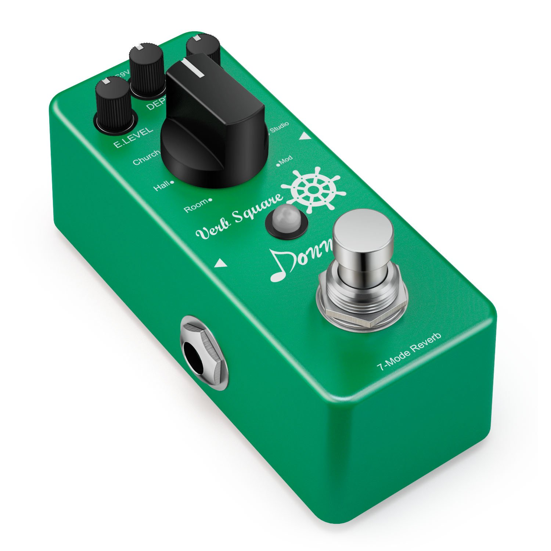 Donner Digital Reverb Gitarre Effektpedal Verb Square 7 Modi EC965-DE-DN