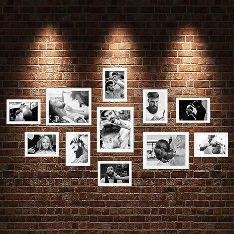 Photo Wall Frame Peluquería Encaje Fondo Pared Tienda de ...
