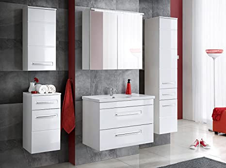 Naka set di mobili da bagno active cm bianco bagno con