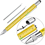 Pen Gifts for Men, Huhoo Cool Gadgets Tools Multi Tech Pen for Men, Personalized Gifts for Dad or Him, Funny Gift for…