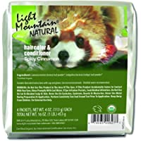 Light Mountain Natural Bulk Hair Color And Conditioner, Spicy Cinnamon