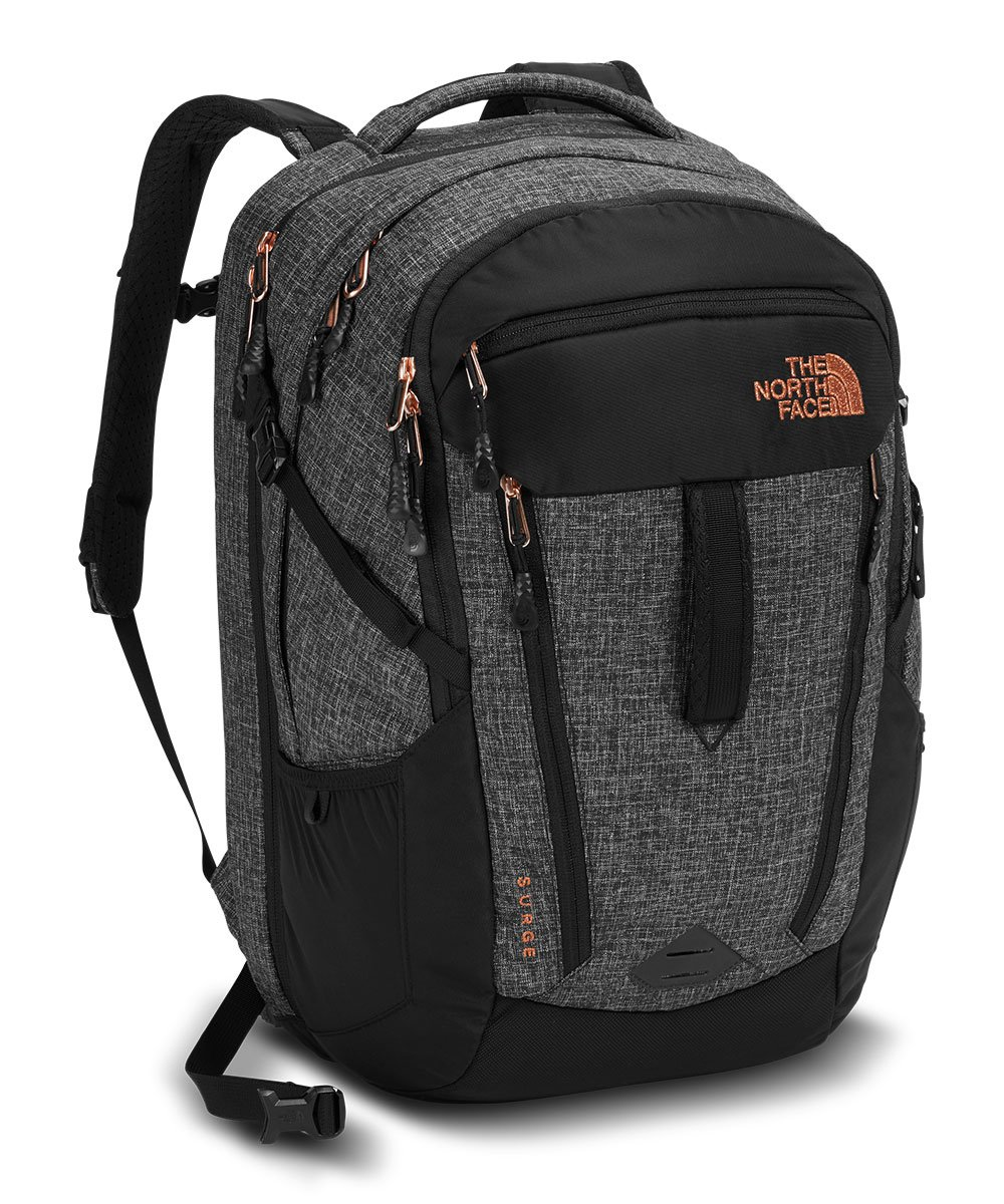 The North Face Women's Surge Laptop Backpack - 15'' (TNF Black Heather)