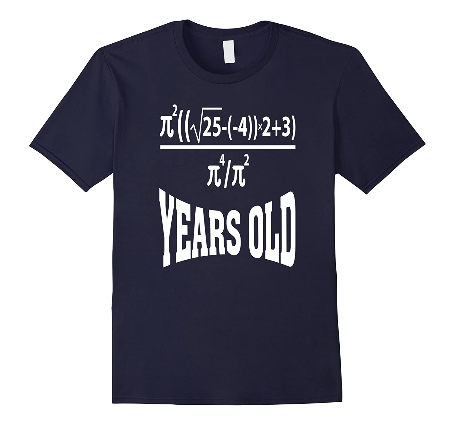 21 Years Old Algebra Equation Funny 21st Birthday Math Shirt-BN