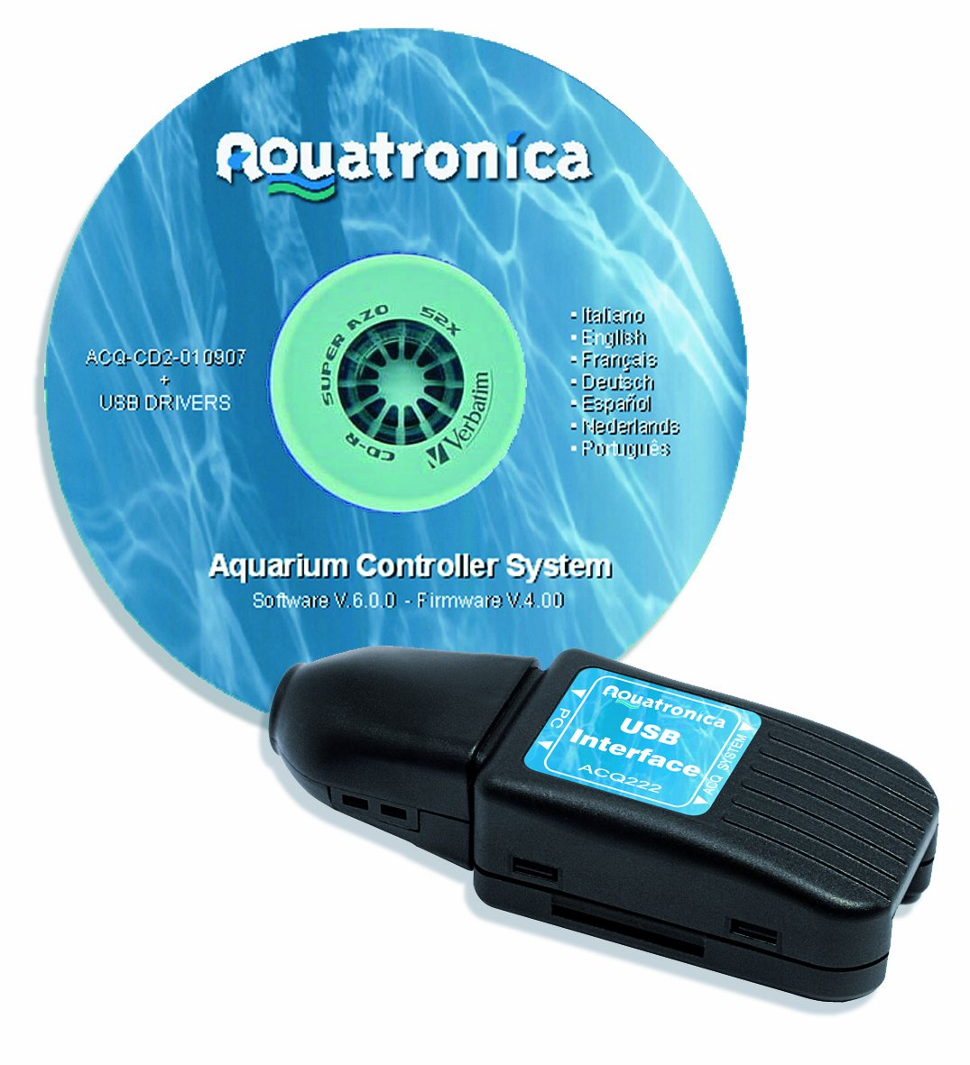 Aquatronica ACQ222 USB PC Kit, USB PC Interface and Software