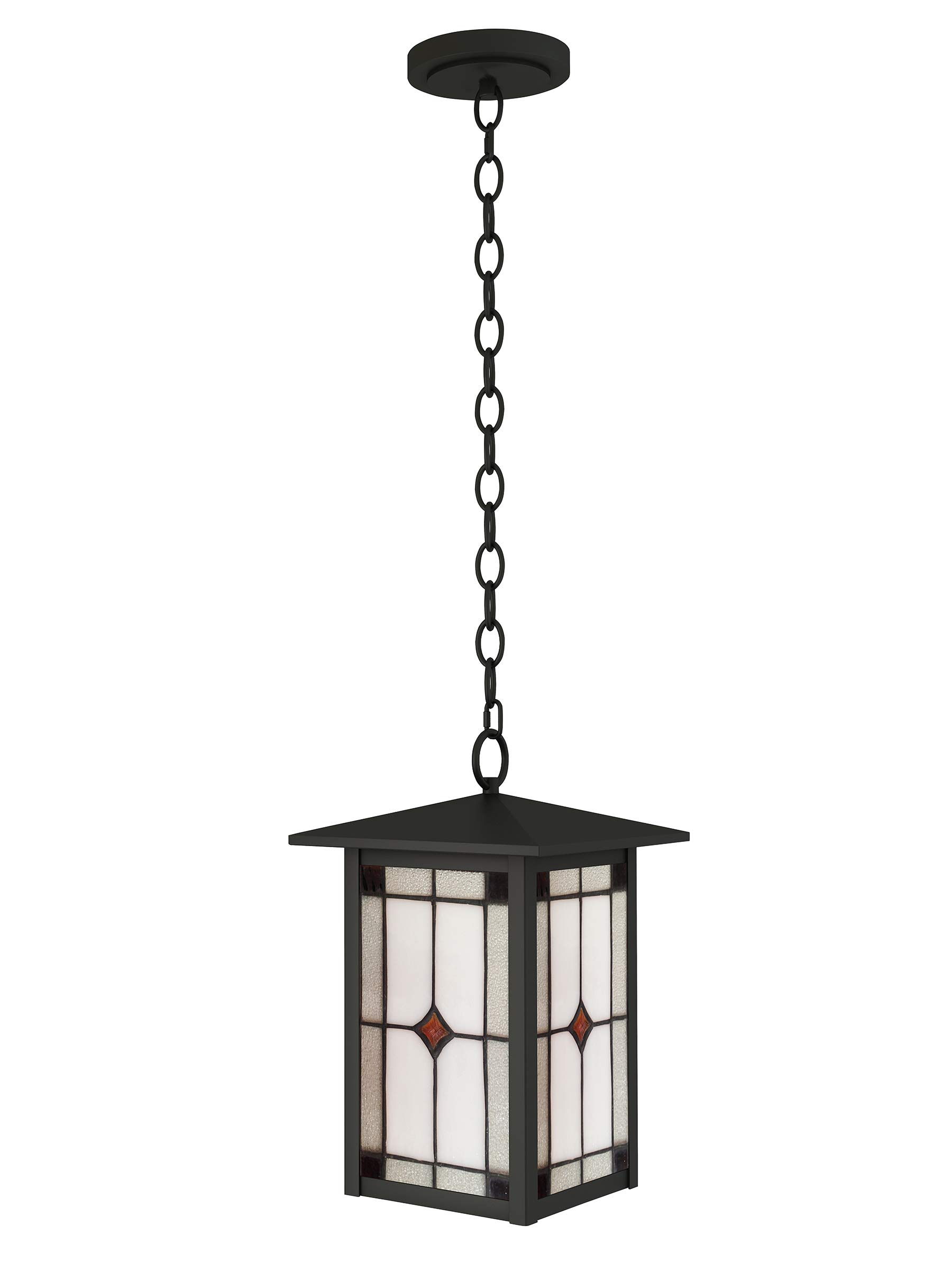 Dale Tiffany STH16131 Mayan Outdoor Tiffany Mini Pendant Mica Black