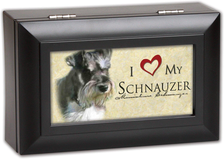 【新品】 Love Song – My Schnauzer Cottage Garden小柄マットブラック仕上げ音楽ジュエリーボックス – World Plays Song Wonderful World B00KMDJ3SK, じゅうせつひるず:fb96936e --- arcego.dominiotemporario.com