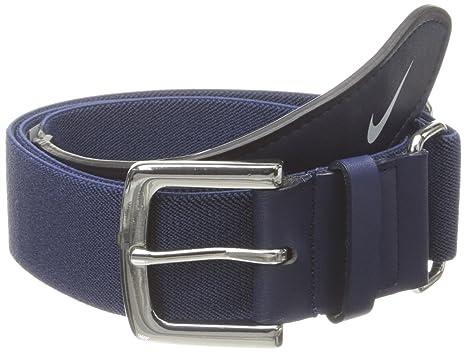 279aafa4444 Amazon.com  Nike Adult Baseball Belt (Navy White