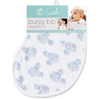 Aden By Aden And Anais Baby Muslin Burpy Bib with Disney Mickey Mouse Graphic, Multicolor