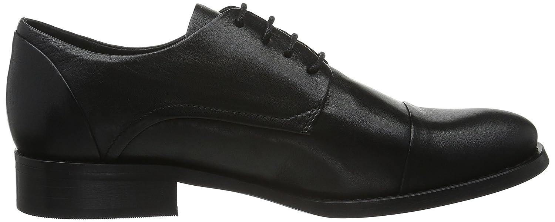 Dress Shoe Hombre Negro 10black De Zapatos Jja15 Bianco Cordones dawAHqd