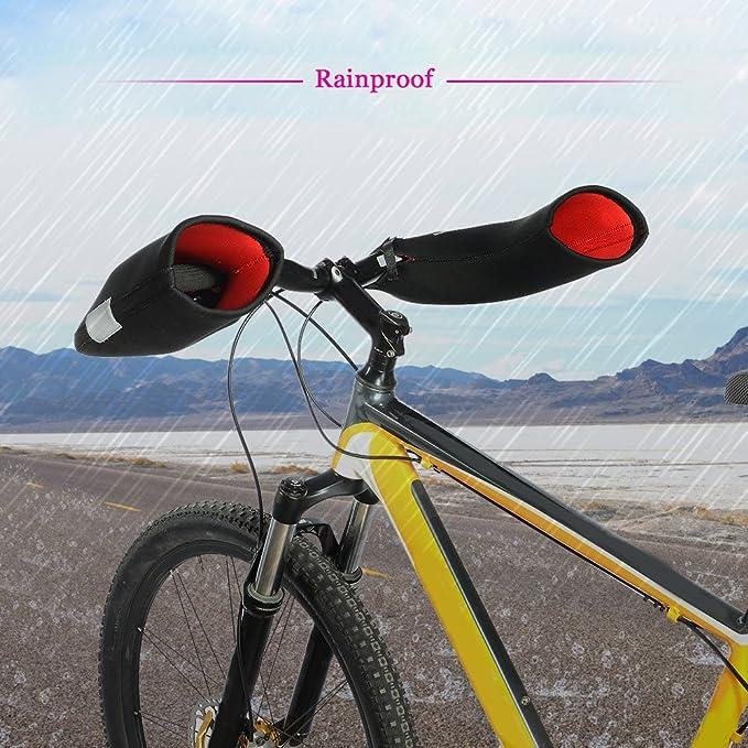 Fahrrad Lenker Griff Protector Cover Stoßfeste Mountainbike Brake Bremshebel Neu
