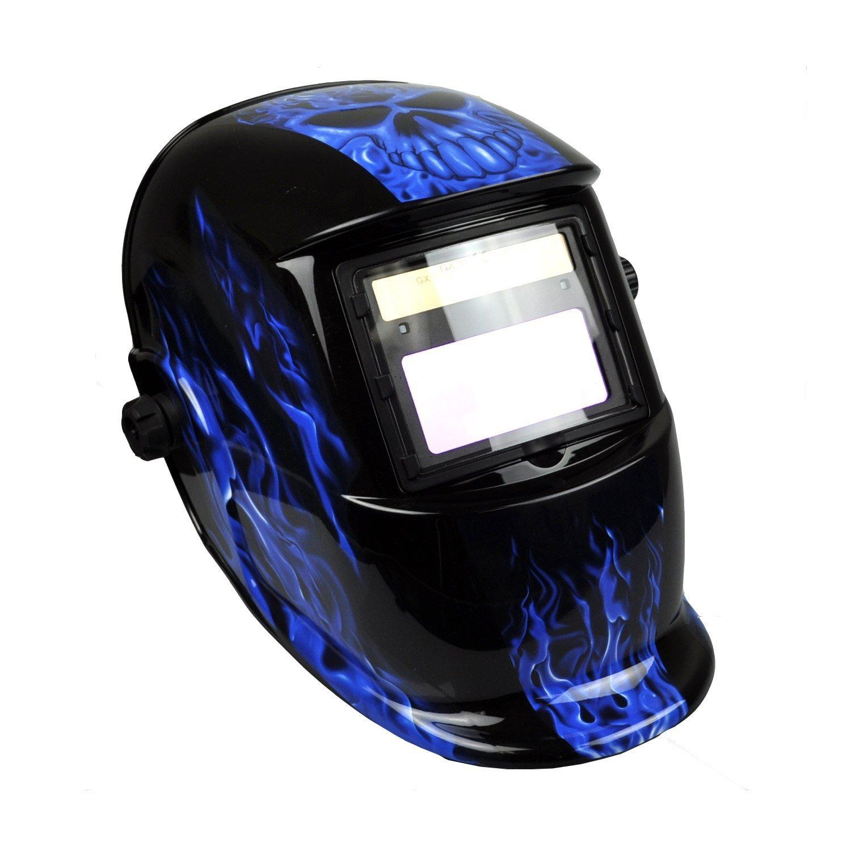 b3027ad4a8de3 Instapark ADF Series GX-500S Solar Powered Auto Darkening Welding Helmet  with Adjustable Shade Range