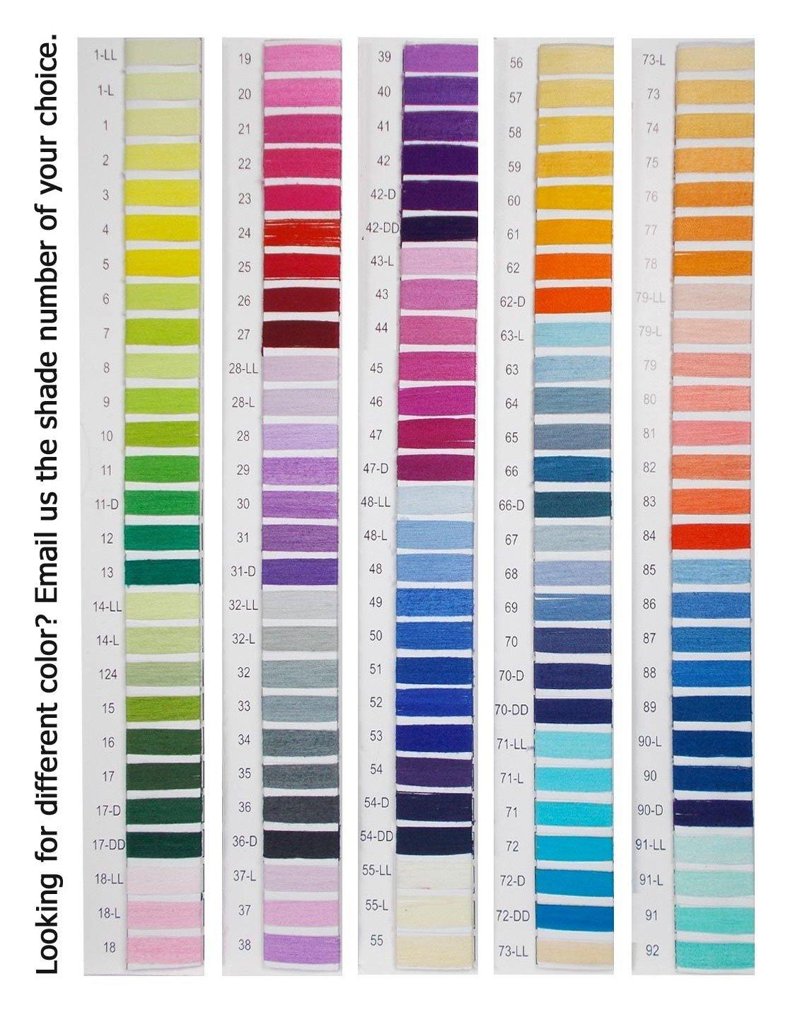 Set of 10 Pcs Gray Turquoise Cotton Crochet Thread Cross Stitch Knitting Yarn Tatting Doilies Skeins Lacey Craft by CraftyArt (Image #5)