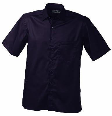 online store 96147 7d98a James & Nicholson Bügelleichtes, modisches Herrenhemd kurzarm