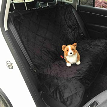 MEGOOD 118x110cm Car Back Seat Pet Cover ProtectorWaterproof Nonslip Safety Travel Cushion For