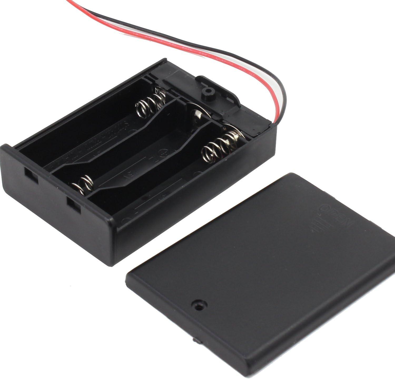 KEESIN AA 4.5 V batería titular caso caja de almacenamiento de la ...