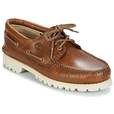 93a0c1a5bf Timberland Herren Slipper/Bootsschuhe Icon Classic 3-Eye Brown Pull-up  braun (