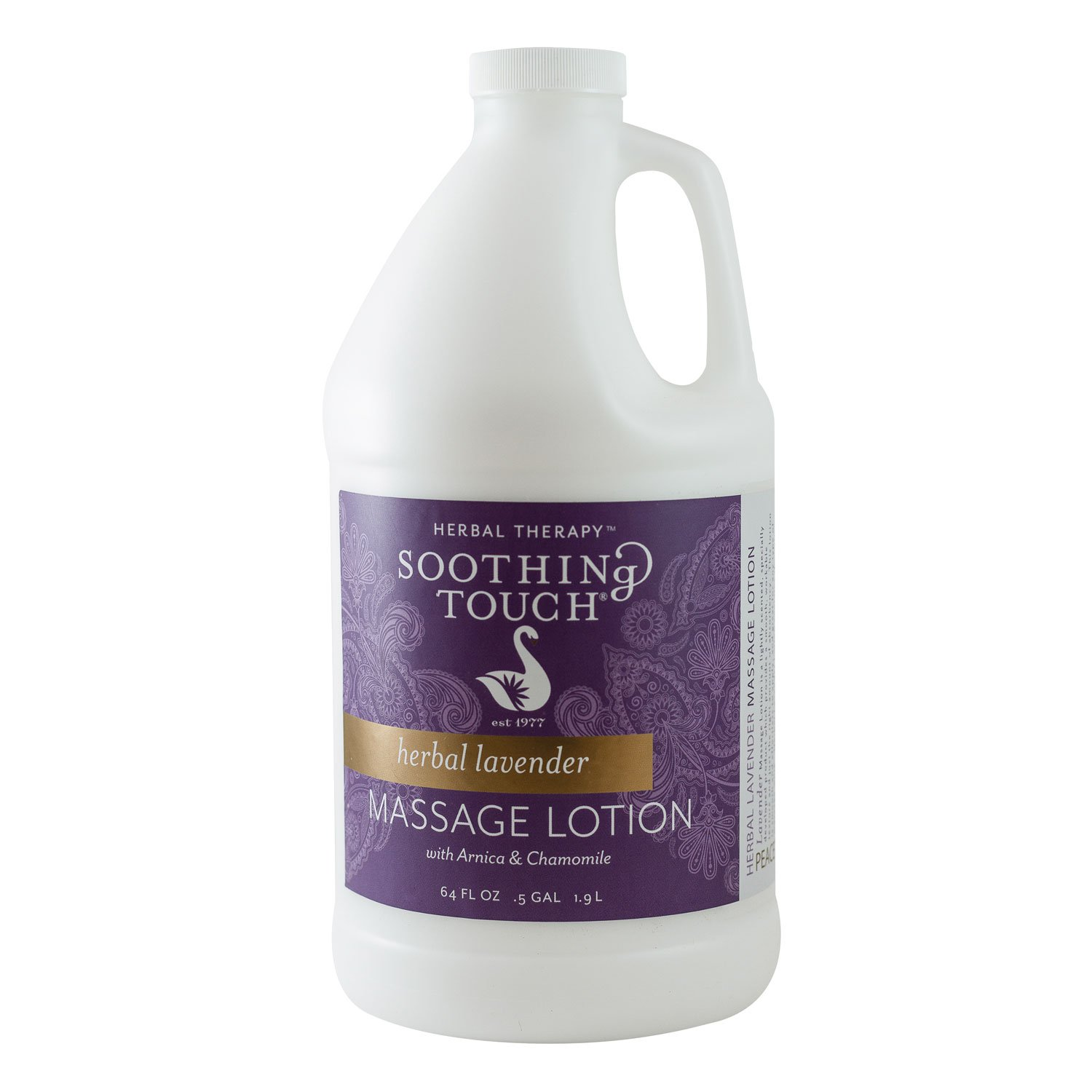 Soothing Touch W67341H Herbal Lavender Lotion, 1/2 Gallon