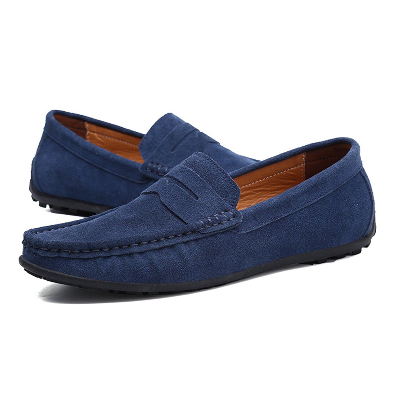Nomioce - Sandalias con Cuña Hombre 39 EU=43 EU=26.5 cm|Azul Marino