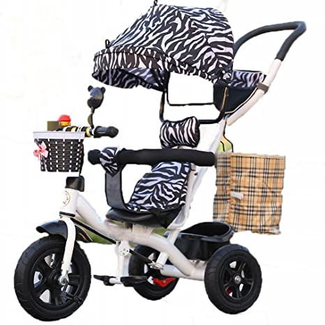 YC Bicicleta de Cochecito de Bebé de la Bici del Triciclo de Los Niños con el