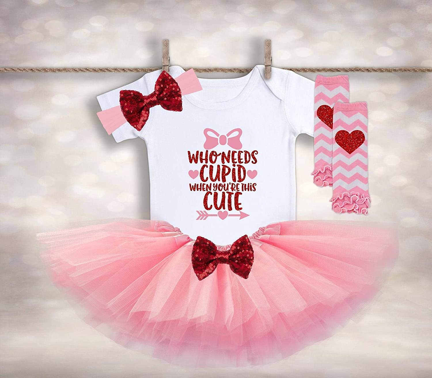 Amazon.com: Baby Girls Valentines Outfit - Pregnancy Announcement