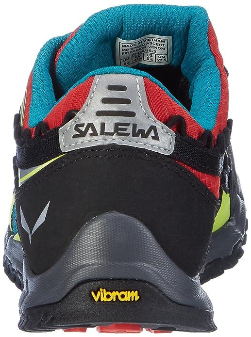 Salewa Ms Speed Ascent, Chaussures de Sport Homme, Noir/Rouge (Carbon/Flame 0794), 42 EU