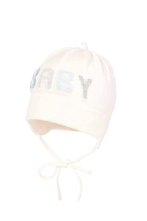 Baby Boy - Gorra de algodón para recién nacido, bautizo, capucha de ...