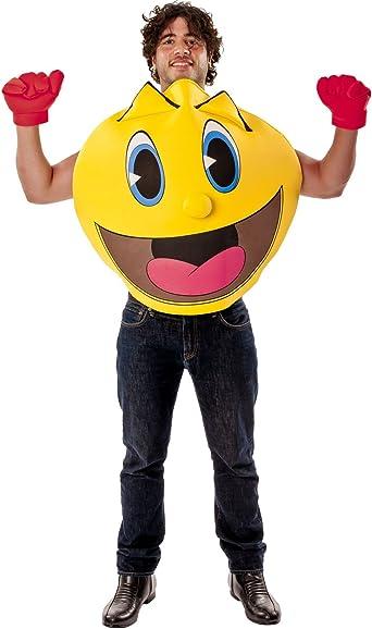 Adultos Disfraz Deluxe Pac Man Pac-Man el fantasmal Aventuras ...