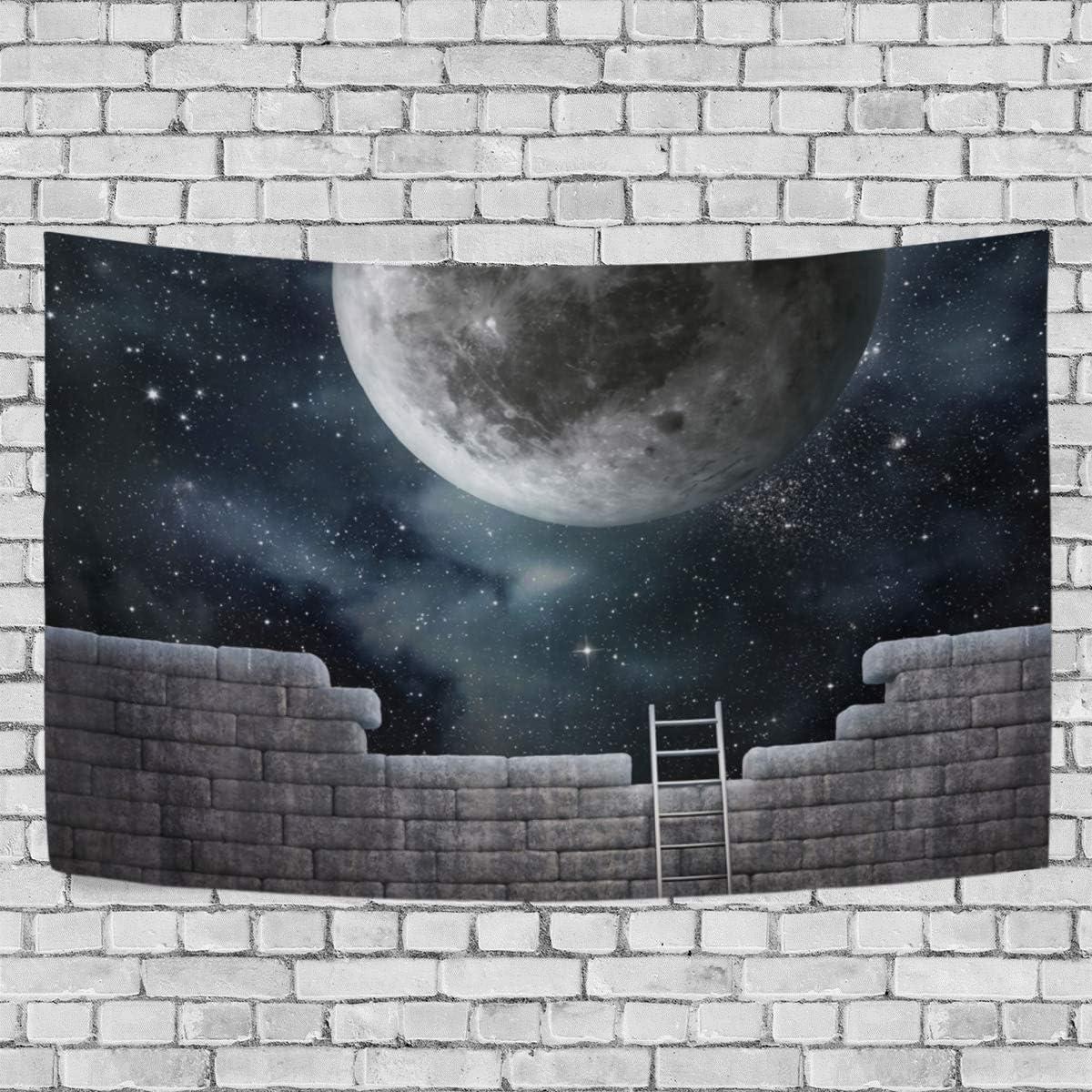 JSTEL - Tapiz para Colgar en la Pared (100 x 150 cm), diseño de Escalera,, 150 x 130 cm: Amazon.es: Hogar