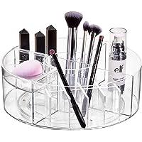 iDesign Signature Series Organizador de cosméticos, Borde Blanco Mate y Transparente