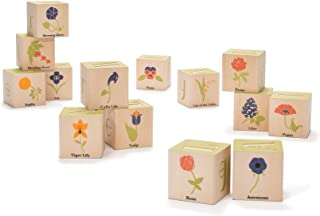 product image for Uncle Goose Flower Blocks - Made in The USA