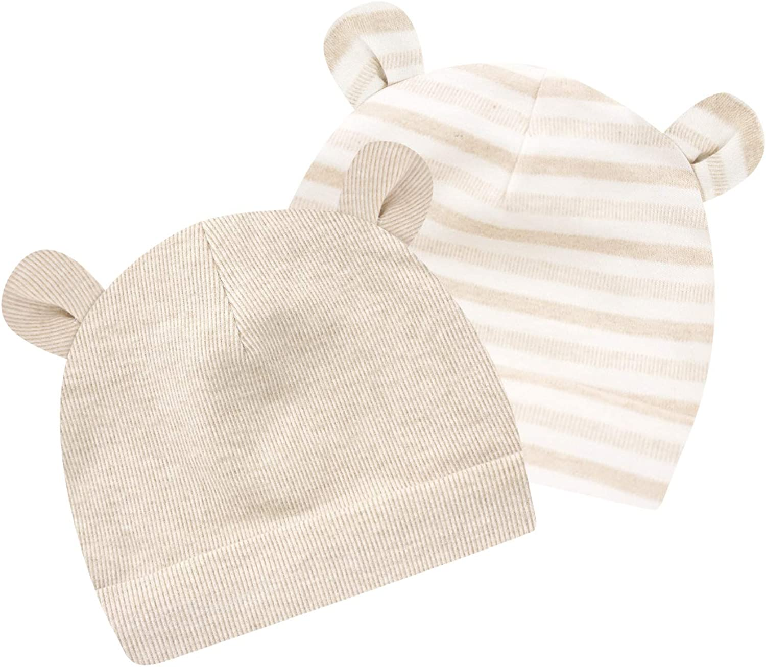 VBIGER 3 Pack Baby Beanie Hat Toddler Boys Girls 100/% Cotton Cap Soft Double Layered Hats Aged 1-3
