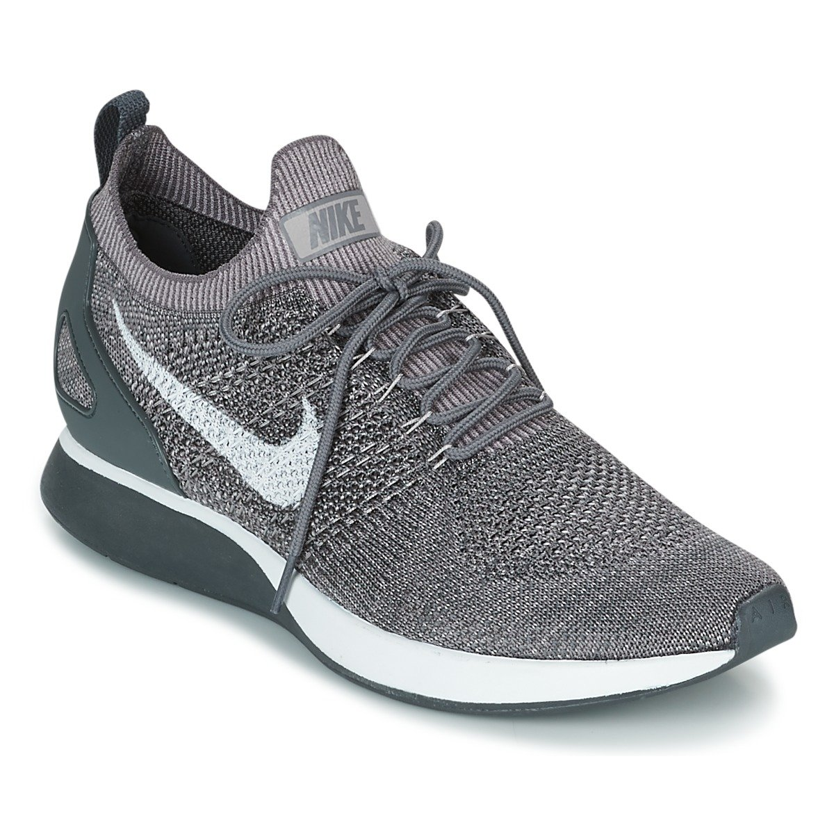 Nike Women's Free Rn Flyknit 2017 Running Shoes B079QMFYB2 11.5 D(M) US|Gunsmoke/White-atmosphere Grey