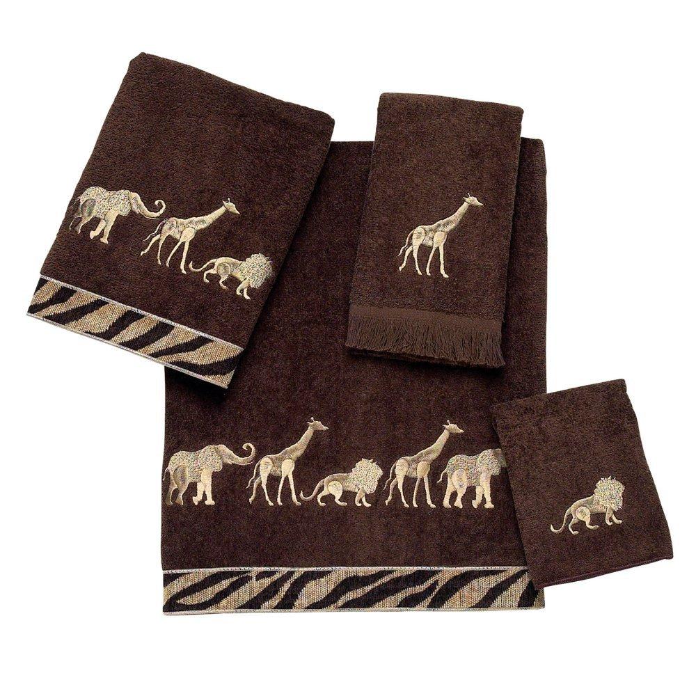 Avanti Linens Animal Parade 4 Piece Towel Set