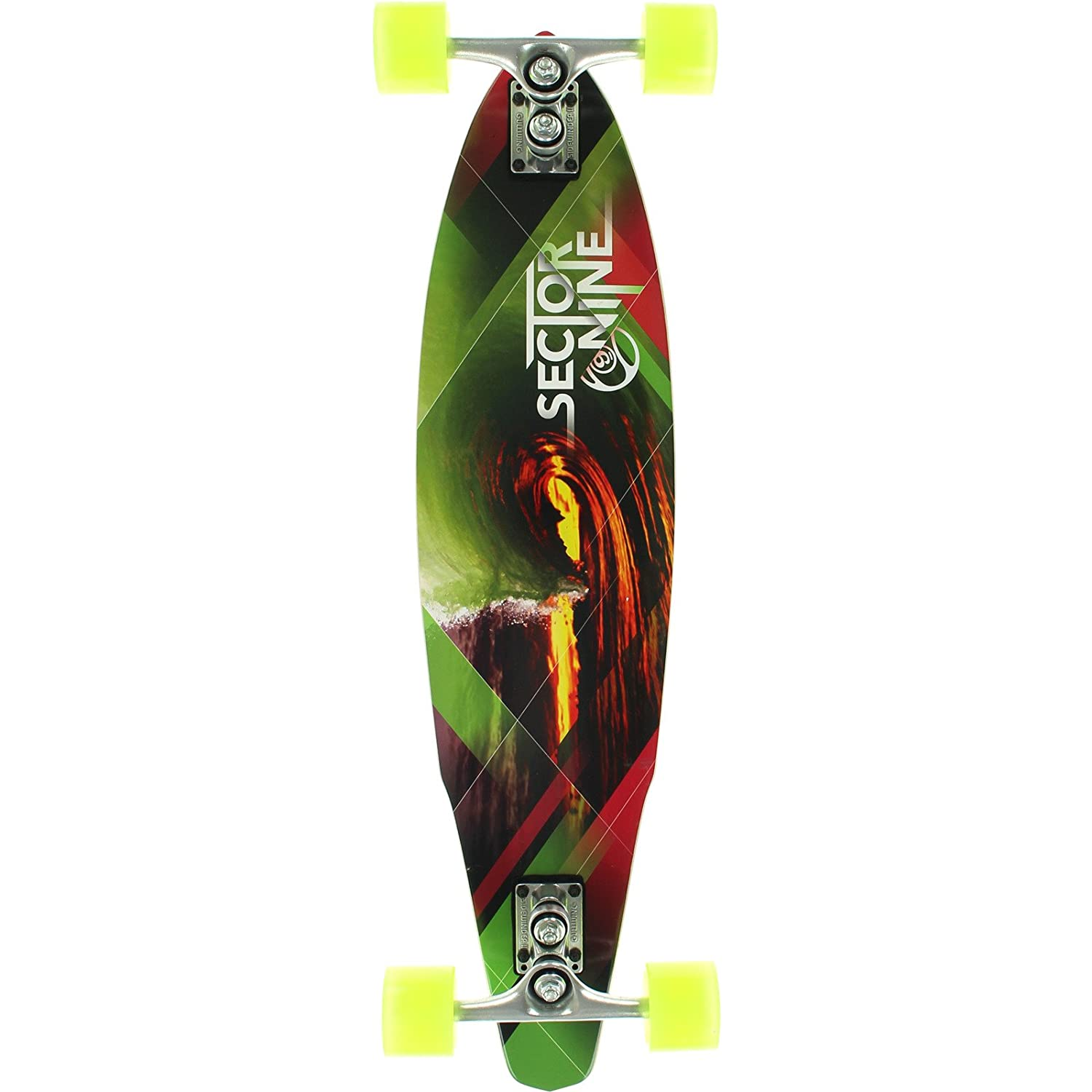 大割引 Sector 9 Revolver Red Green 9/ - Red Complete Skateboard - 9.12 x 37.5 by Sector 9 B017IRLA6U, 神戸クリスマスギャラリー:d4aa37a3 --- a0267596.xsph.ru