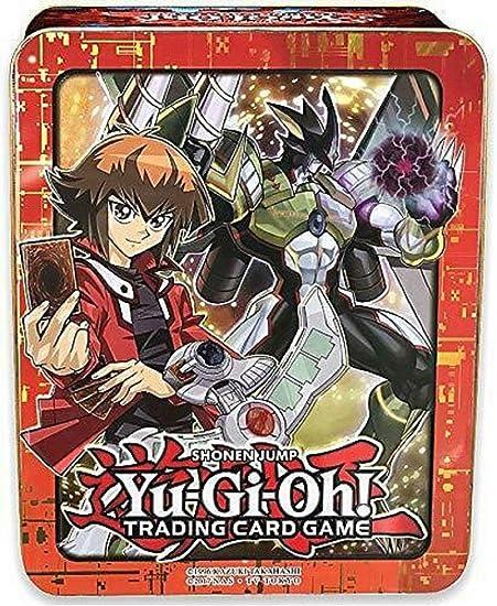 "Yami Yugi /& Yugi Muto 2017 Yu-gi-oh Mega-Tin /""EMPTY/"" storage tin New"