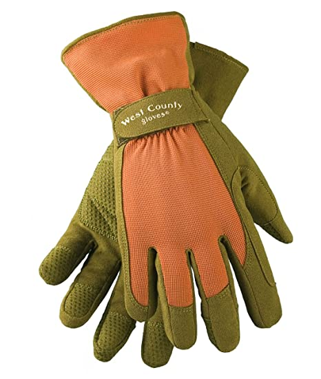 West County 074L Classic Glove, Apricot, Large: Amazon co uk