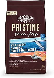 Castor & Pollux Pristine Grain Free Wild-Caught Salmon and Sweet Potato Recipe Dry Dog Food, 18 lbs.