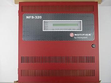 Notifier NFS-320R - Panel de Alarma Inteligente contra Incendios, Color Rojo: Amazon.es: Electrónica
