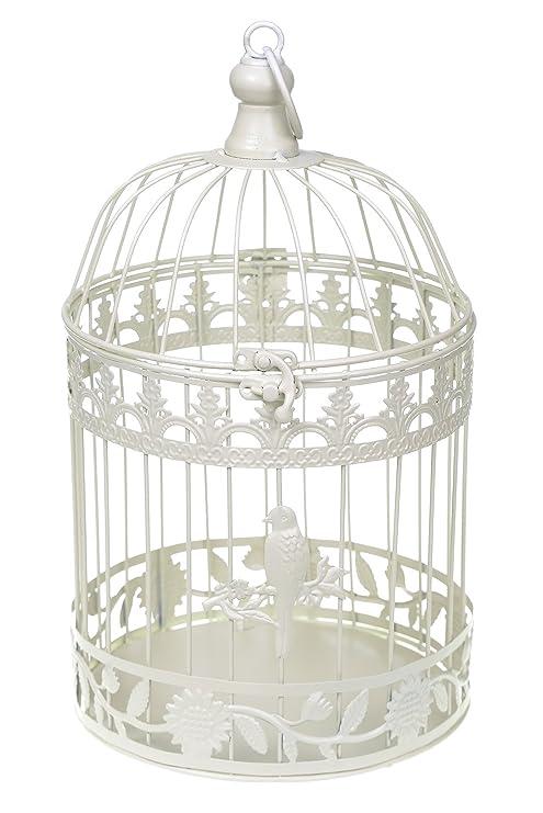 Marfil redondo centro hexagonal jaula de pájaro mesa para boda ...