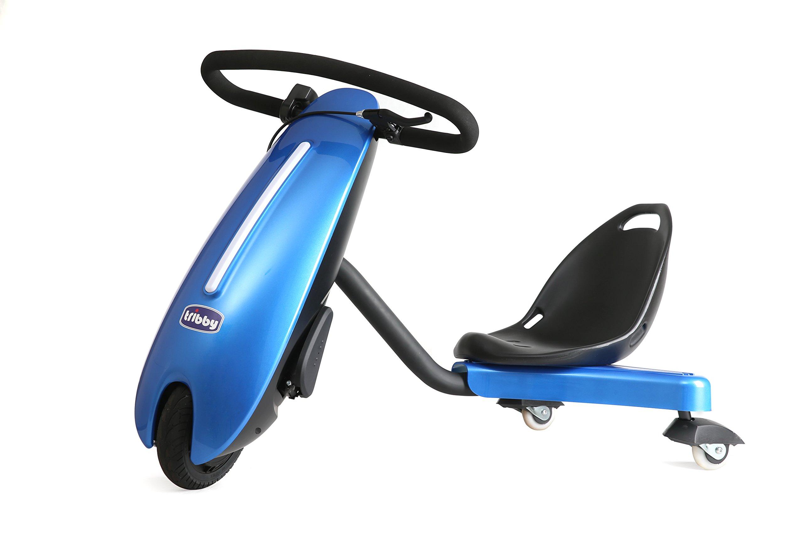 tribby Drift Trike For Kids, Blue by Tribby