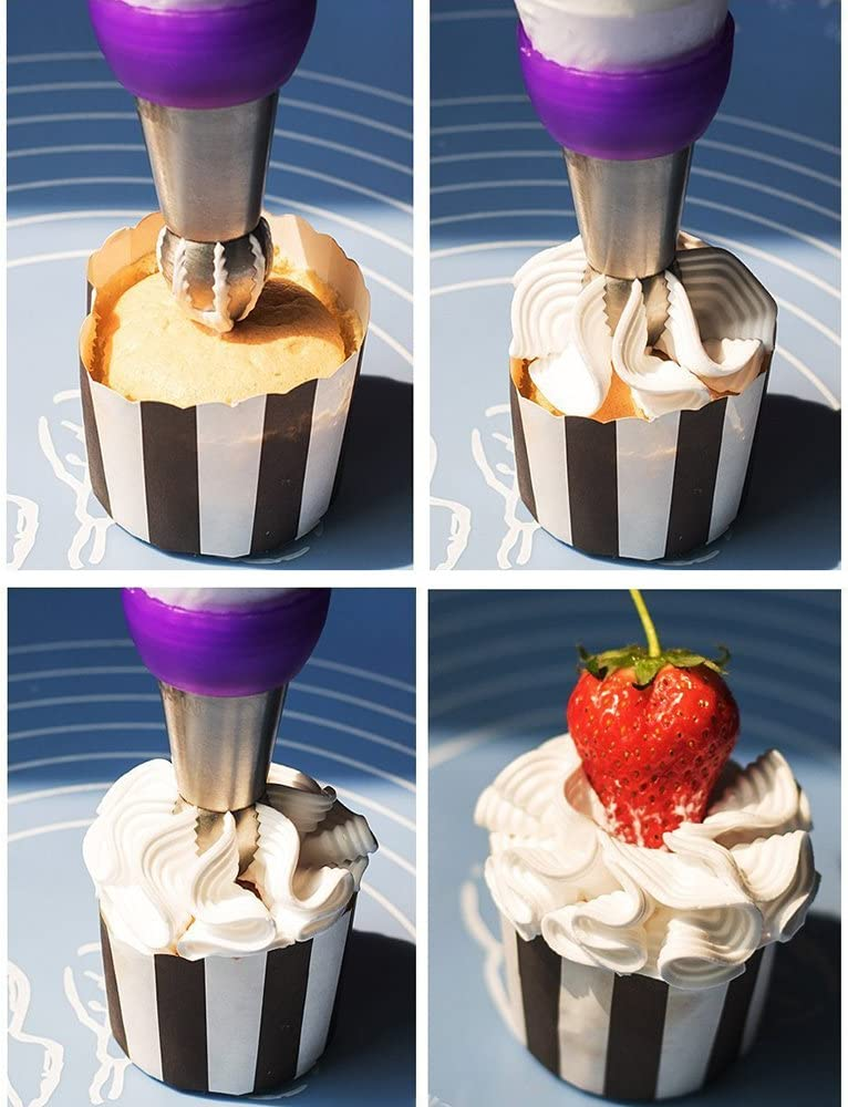 6pcs//set Russian Piping Tips Flower Cake Icing Piping Nozzles Ball DIY Baking Cake Decorating Supplies Kits