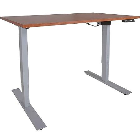 TITAN FITNESS A2 Single Motor Sit Stand Desk w Wood 30 x48 Top Conversion