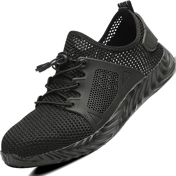 Image of Ucayali Zapatos de Seguridad Hombre con Punta de Acero, Cómodas Ultraligero & Transpirables, 39-50