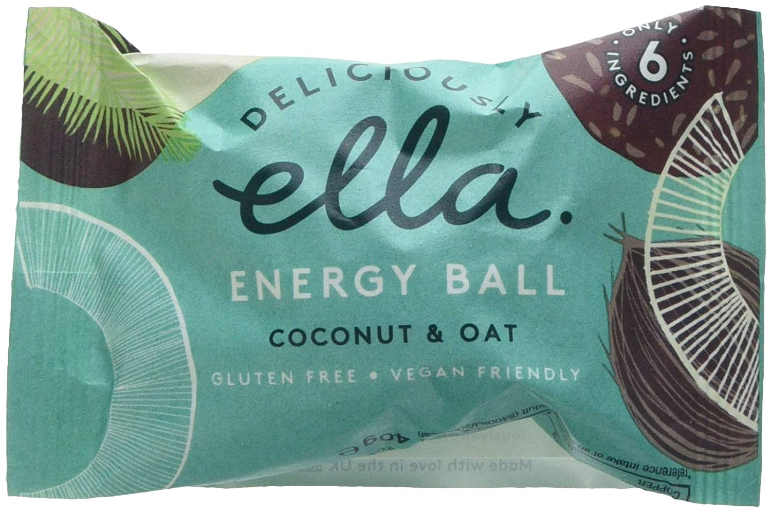 9713b927f Deliciously Ella Coconut and Oat Energy Ball