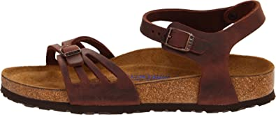 5aa9dd787340 Birkenstock Women s Oiled Leather Bali Anklestrap Sandal 40 N Eu Habana  Leather  Amazon.co.uk  Shoes   Bags