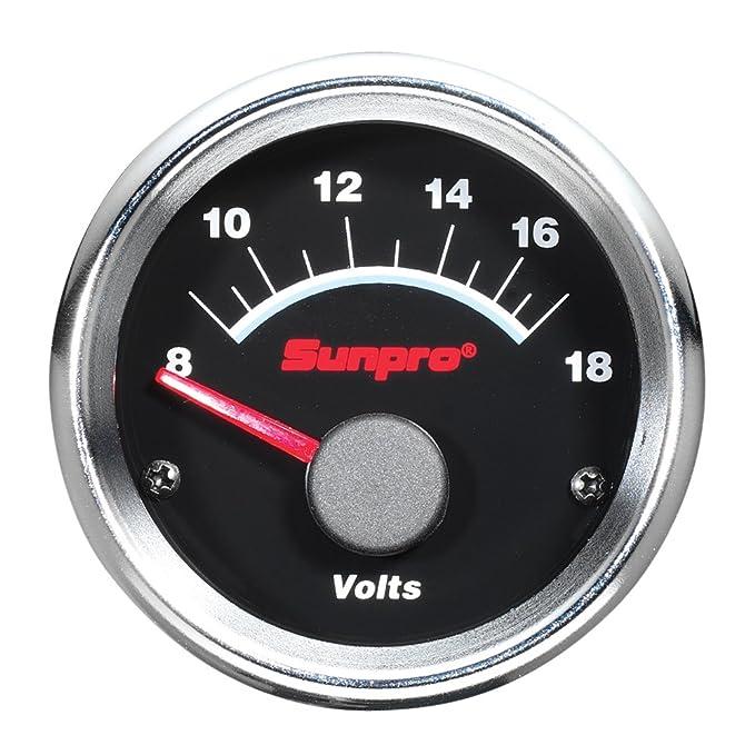 "Sunpro CP7107 Super III 2"" Electrical Voltmeter"