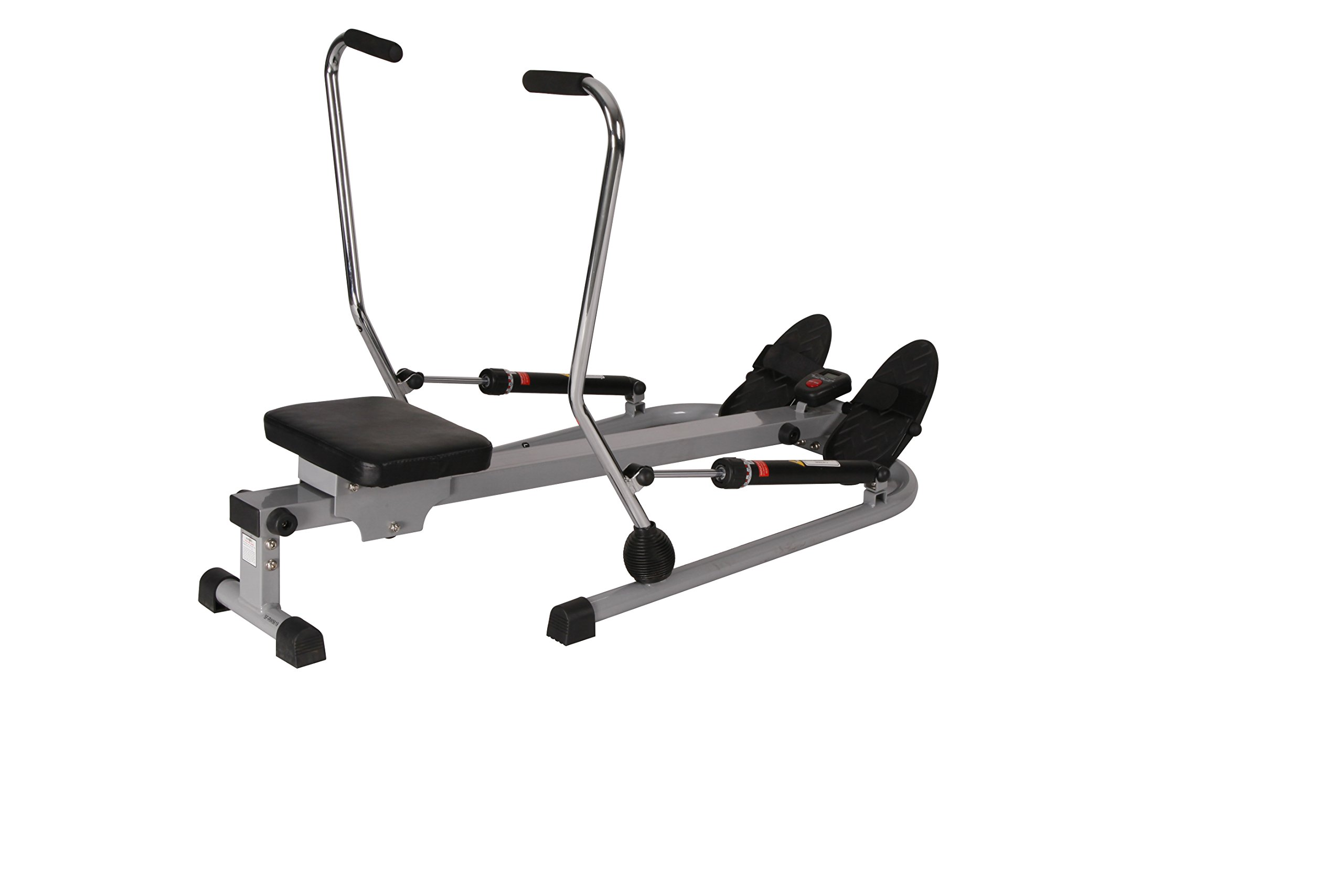 Sunny Health & Fitness SF-RW5619 12 Level Resistance Rowing Machine Rower w/ Independent Arms by Sunny Health & Fitness (Image #2)