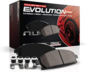 Power Stop Z23-1078, Z23 Evolution Sport Carbon-Fiber Ceramic Front Brake Pads